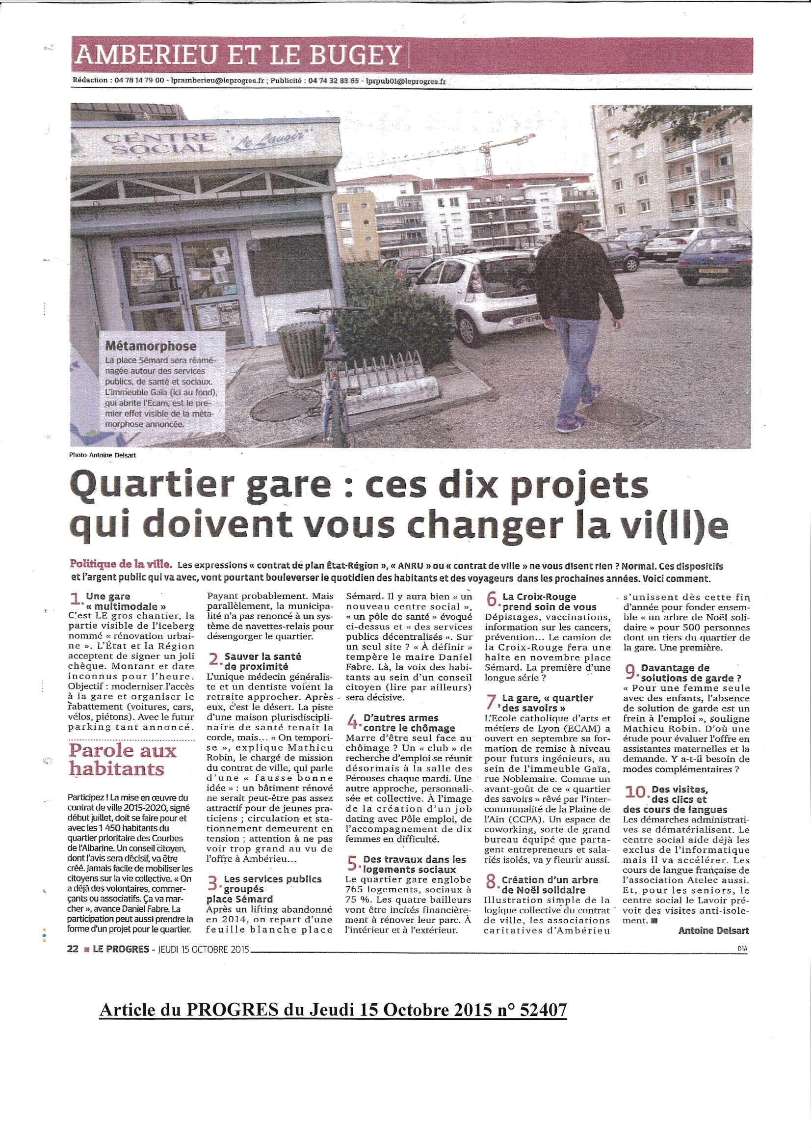 Quartier gare ces dix projets qui doivent changer la ville article du 15 octobre