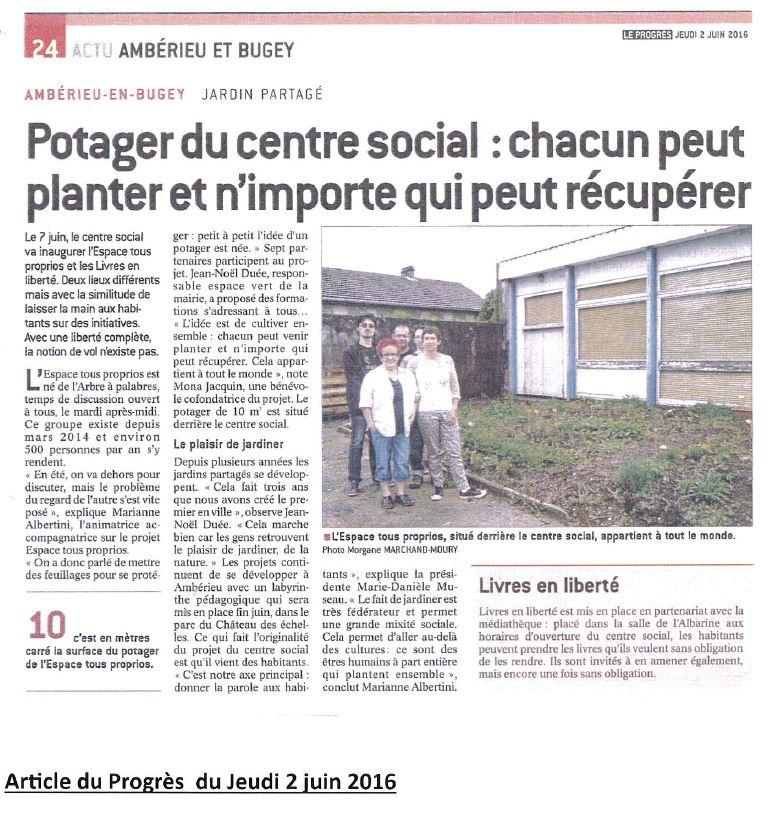 article Espace Tous Proprios